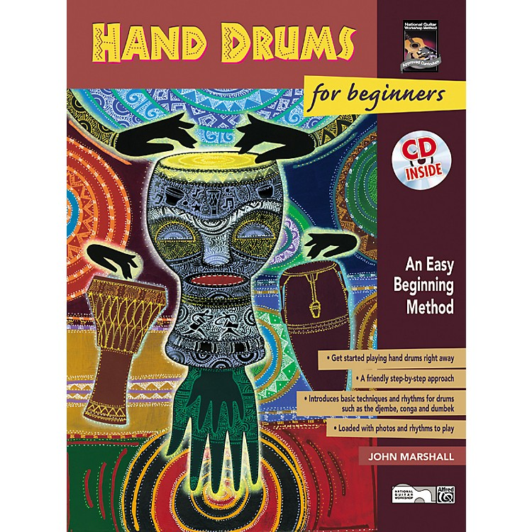 AlfredHand Drums For Beginners (Book/CD)