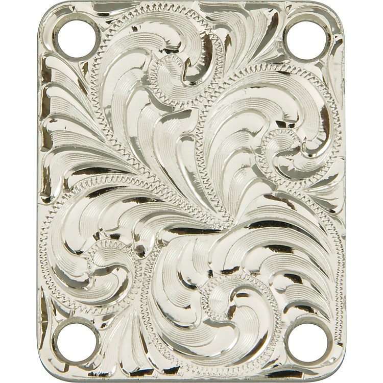 El DoradoHand-Engraved Tele Neck Plate