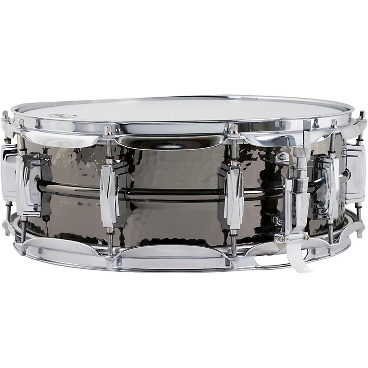 LudwigHand Hammered Black Beauty Snare Drum with Imperial Lugs14 x 5 in.