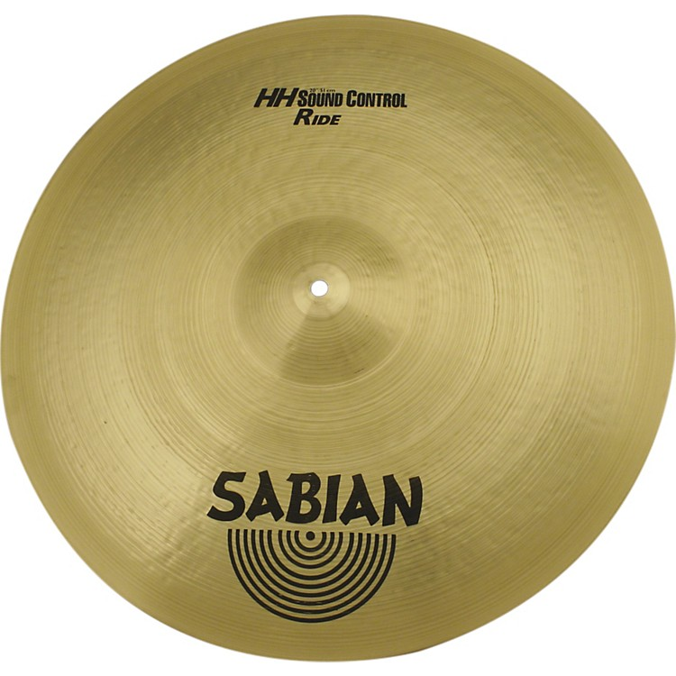 SabianHand Hammered Sound Control Ride Cymbal 20