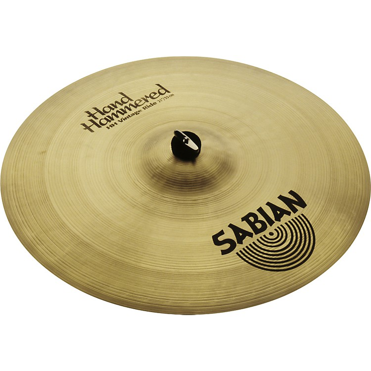 Sabian Hand Hammered Vintage Ride Cymbal Brilliant 21 in.