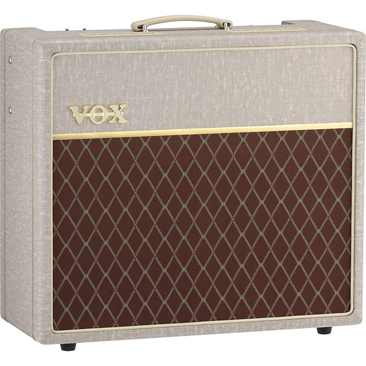 Vox Hand-Wired AC15HW1 15W 1x12 Tube Guitar Combo Amp Fawn
