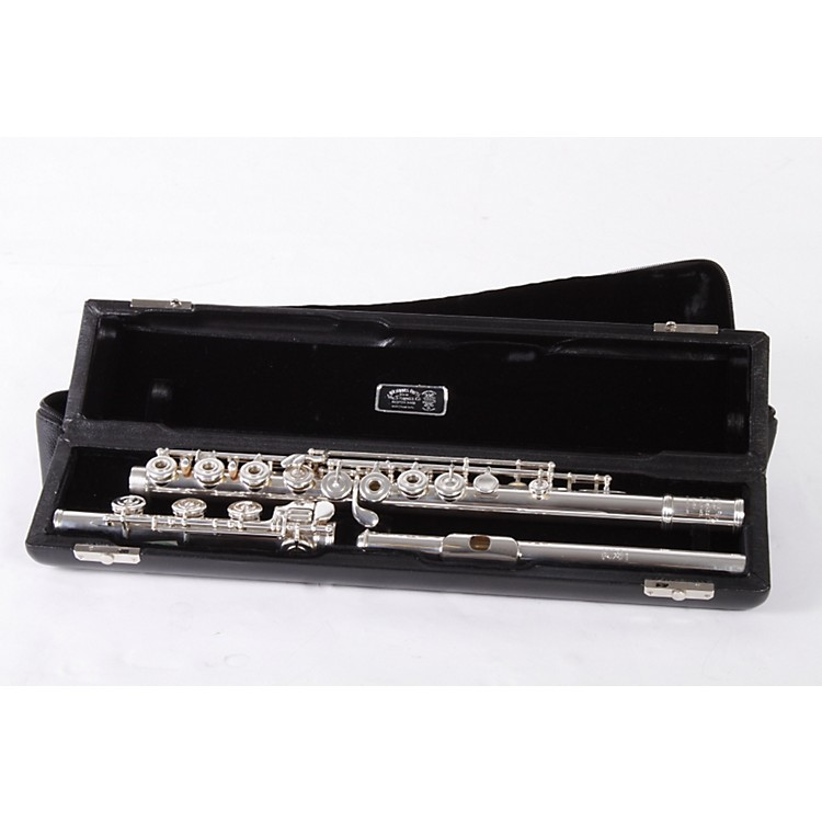 Haynes Handmade Drawn Tonehole Model Professional Flute .016 Wall / Offset G / Gold Riser 886830417634