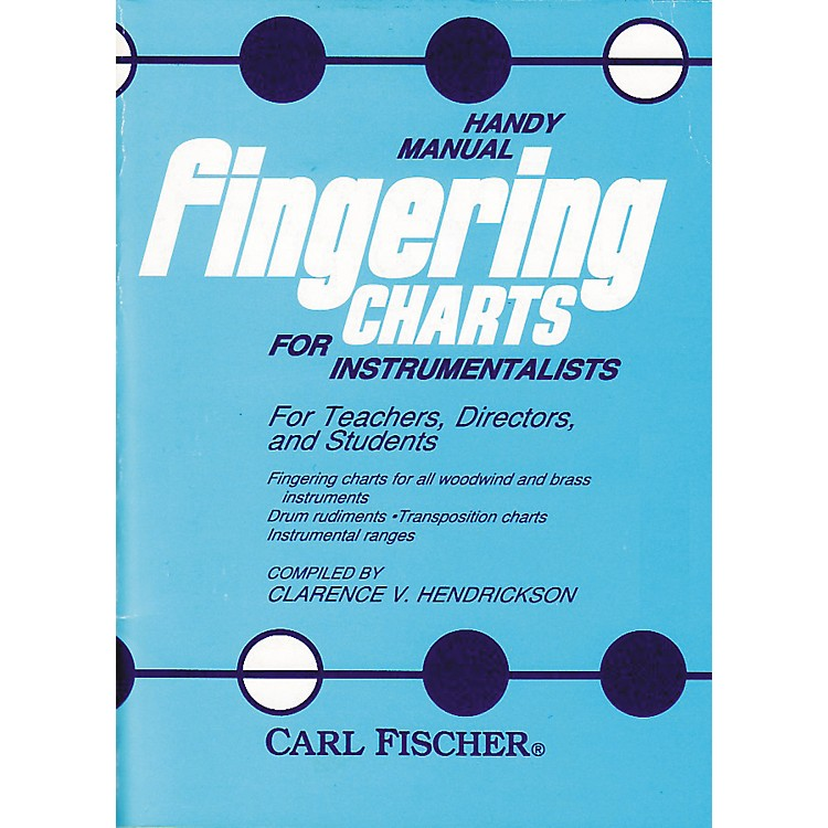 Carl FischerHandy Manual Fingering Charts For Instrumentalists