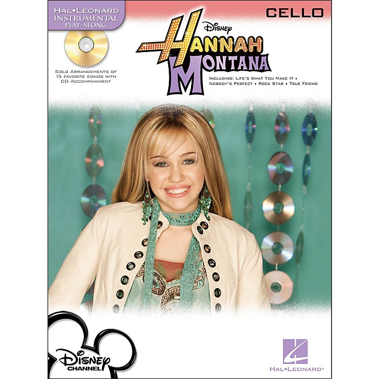 Hal Leonard Hannah Montana for Cello - Instrumental Play-Along Book/CD Pkg