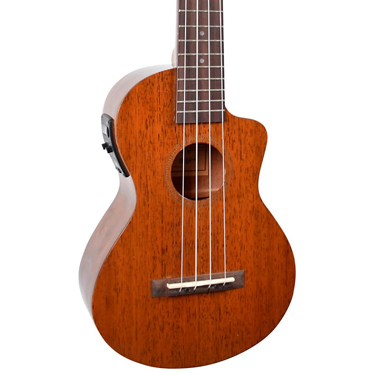 Mahalo Hano Elite Series MH2CE Acoustic-Electric Concert Ukulele Vintage Natural