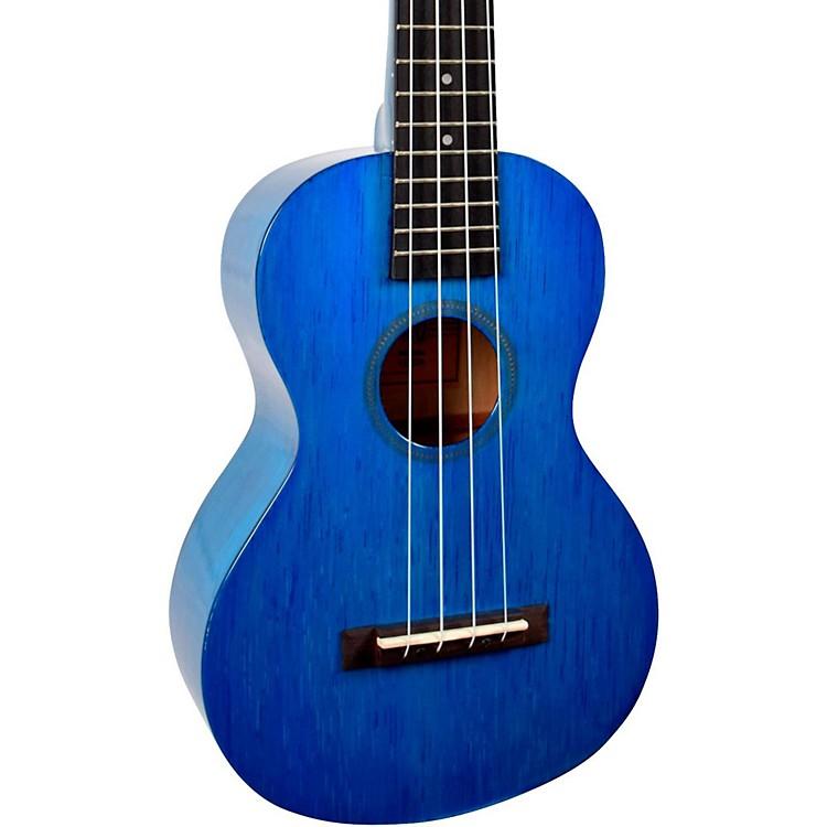 MahaloHano Series MH2 Concert UkuleleTransparent Blue