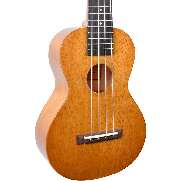 MahaloHano Series MH2W Wide Neck Concert UkuleleVintage Natural