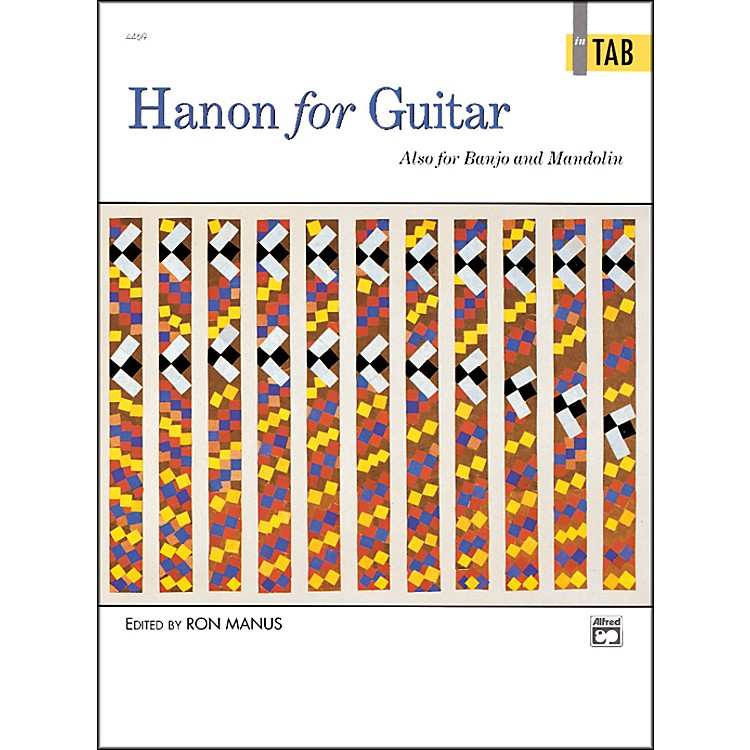 AlfredHanon for Guitar In TAB