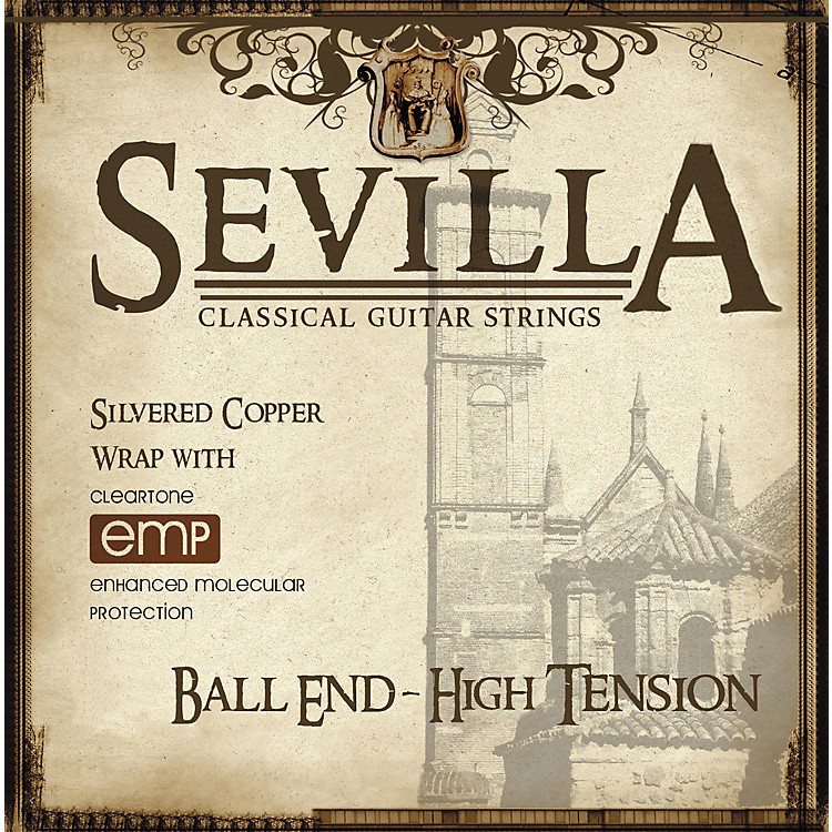Sevilla Classical Guitar Strings Hard Tension Classical Ball End Guitar Strings