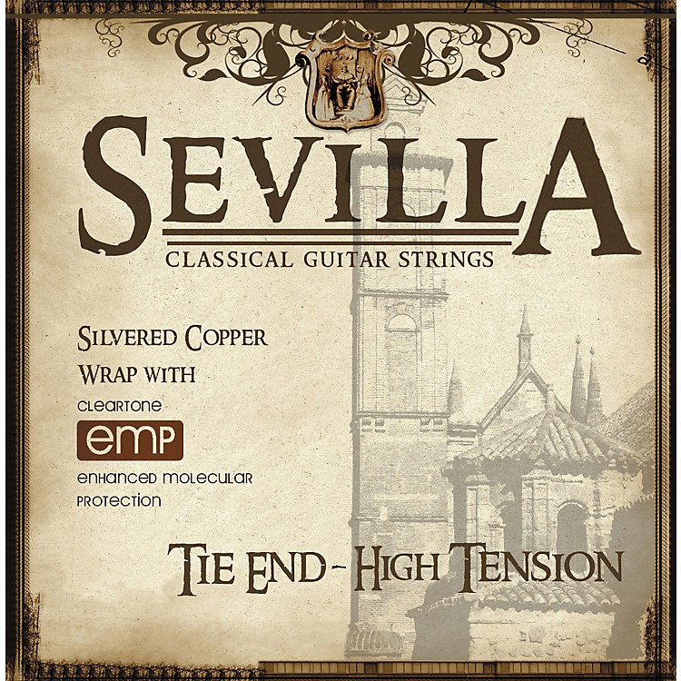 Sevilla Classical Guitar Strings Hard Tension Classical Tie-On Guitar Strings