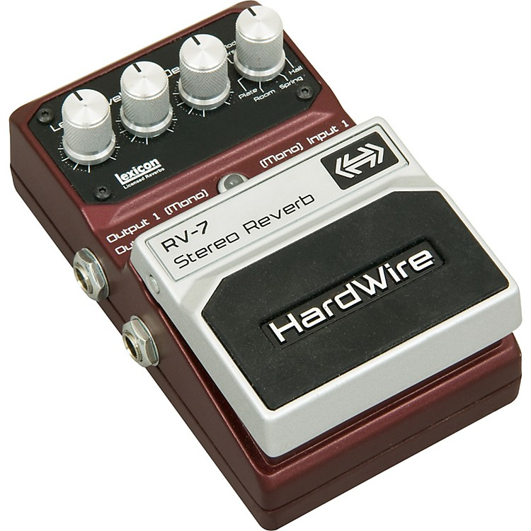 DigiTechHardwire Series RV-7 Reverb Guitar Effects Pedal
