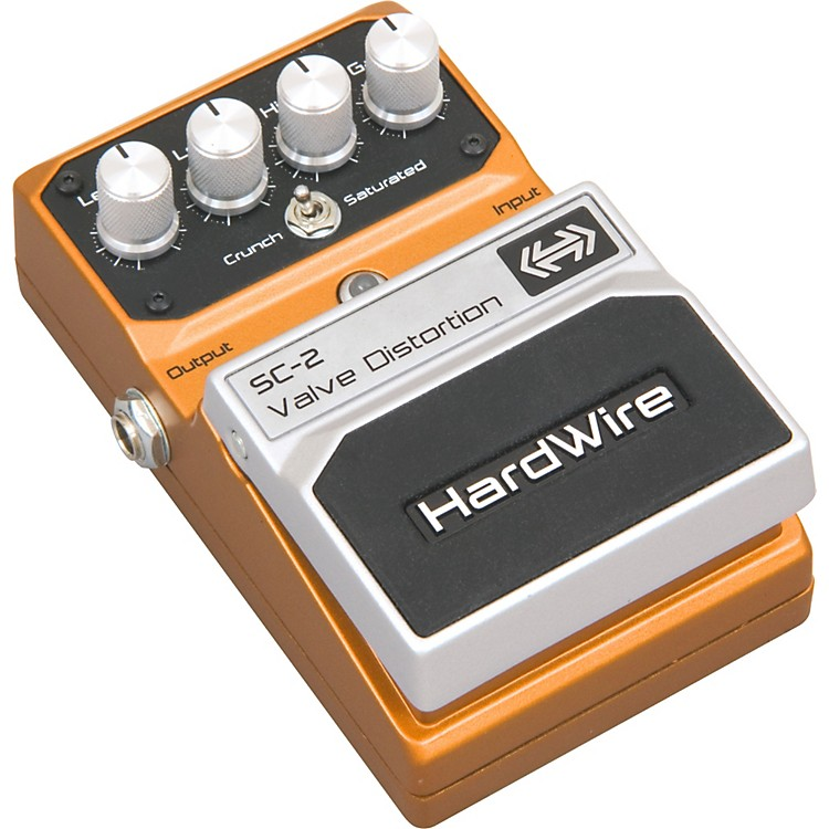 DigiTechHardwire Series SC-2 Valve Distortion Guitar Effects Pedal