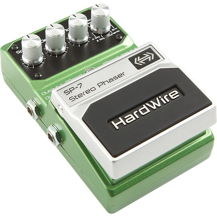 DigiTechHardwire Series SP-7 Stereo Phaser Guitar Effects Pedal