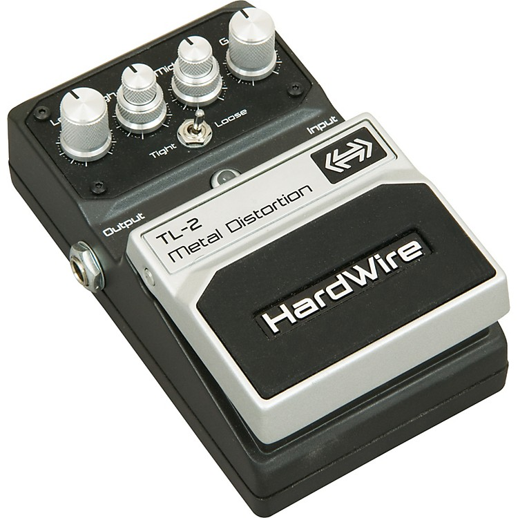 DigiTech Hardwire Series TL-2 Metal Distortion Guitar Effects Pedal