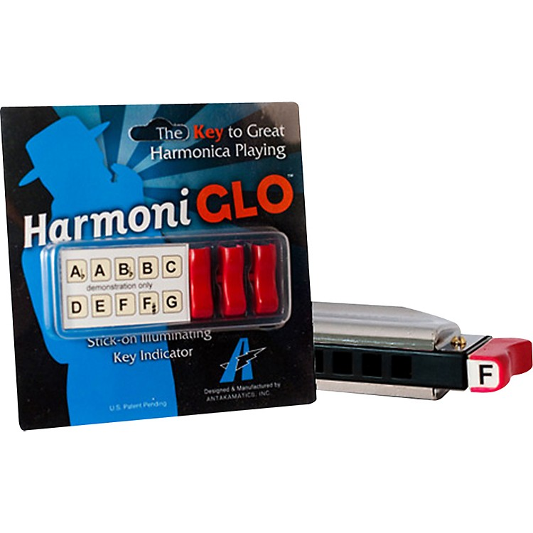Turbo Harp HarmoniGlo Illuminating Key Indicator