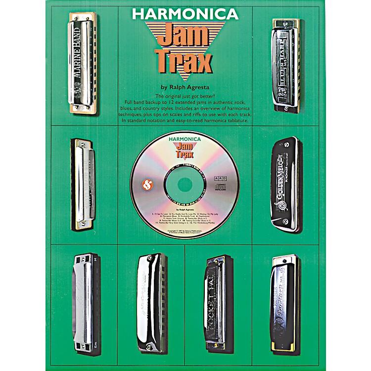 Music SalesHarmonica Jam Trax (Book/CD)