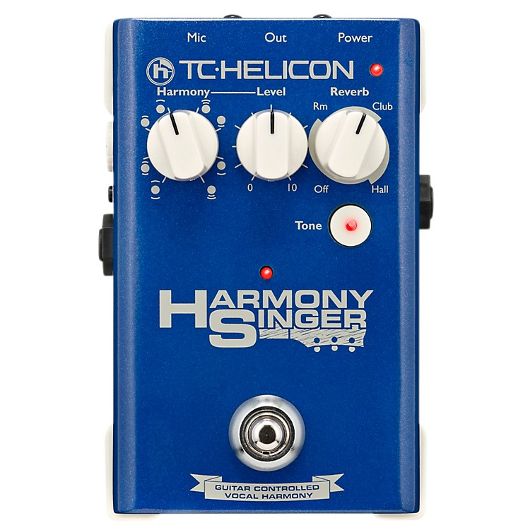 TC HeliconHarmony Singer Effects Pedal