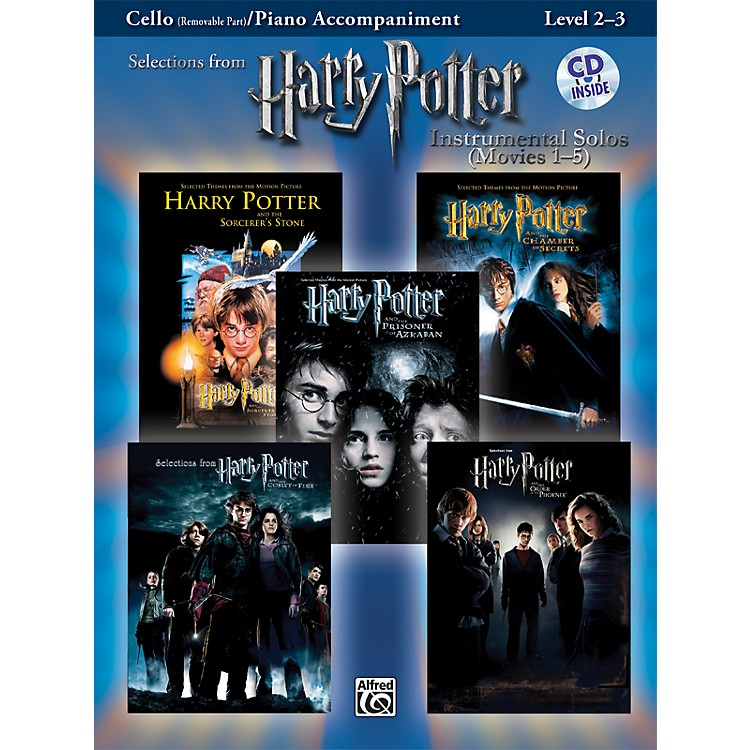 Alfred Harry Potter Instrumental Solos - Movies 1-5 Cello