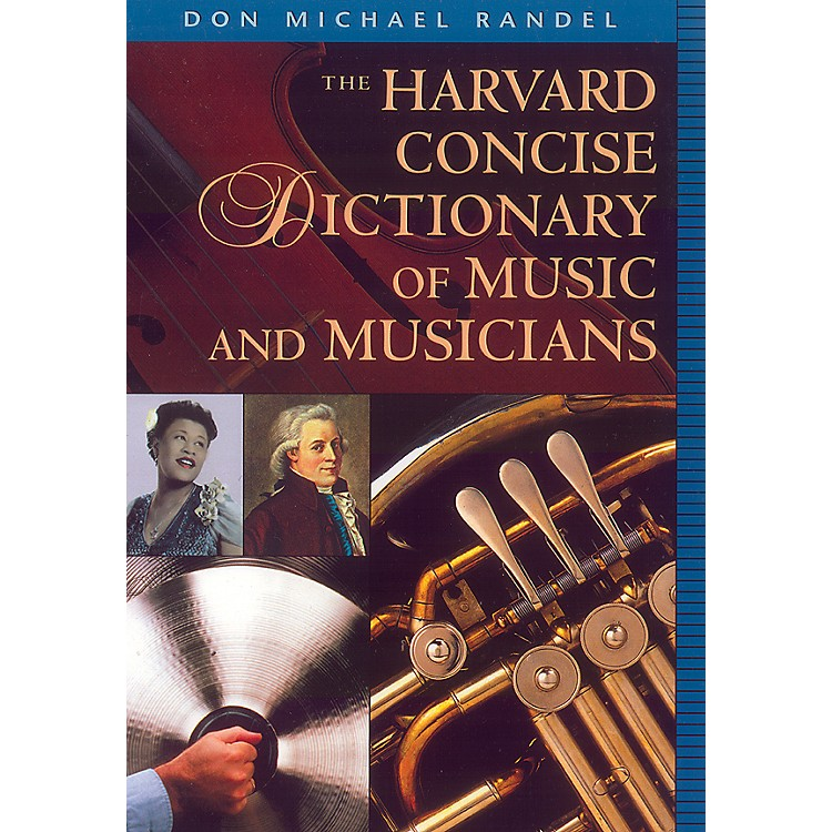 AlfredHarvard Concise Dictionary of Music and Musicians 9