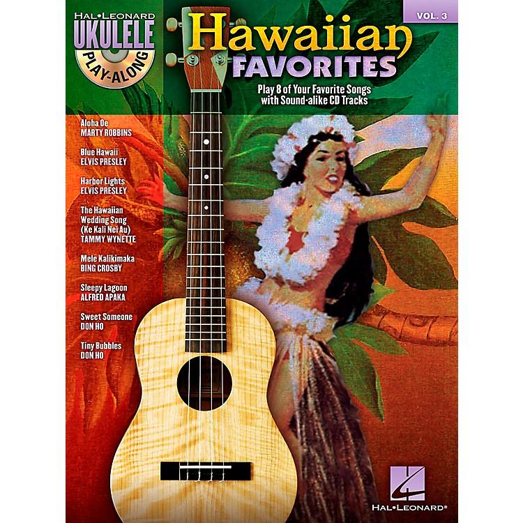 Hal LeonardHawaiian Favorites Ukulele Play-Along Vol. 3 (Book/CD)
