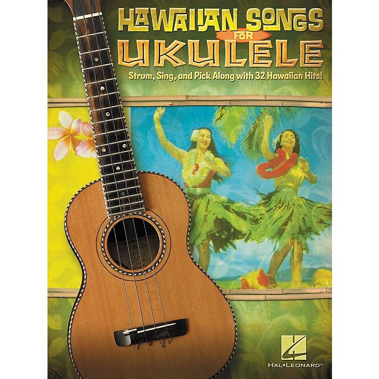 Hal LeonardHawaiian Songs For Ukulele