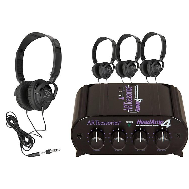 ARTHeadAmp 4 Headphone Amp with 4 Free Headphones