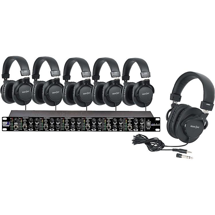 ARTHeadAmpPro6 Headphone Amp with 6 Headphones