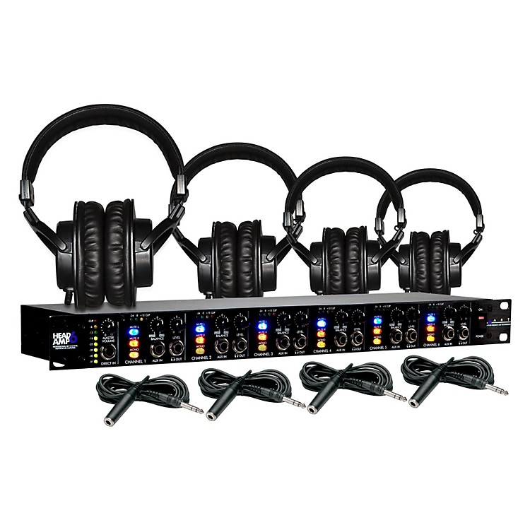 ARTHeadamp6 Tascam TH-200X Package ( 4-Pack)