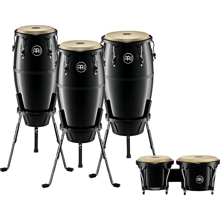 Meinl Headliner 3-Piece Conga Set With Free Bongos