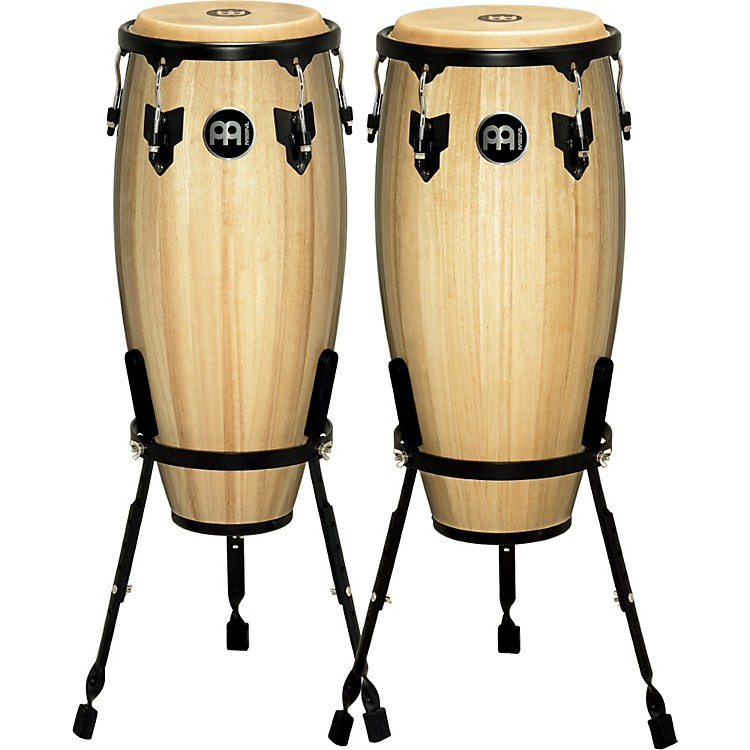 Meinl Headliner Conga Set with Basket Stand Natural