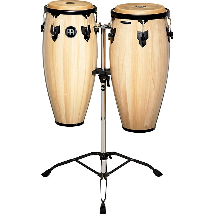 Meinl Headliner Conga Set with Tripod Stand Natural