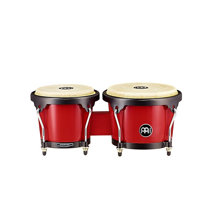 Meinl Headliner Series Fiberglass Bongo Red