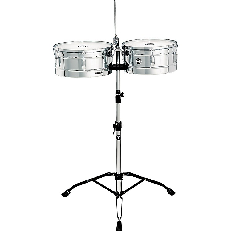 Meinl Headliner Series Timbales Chrome