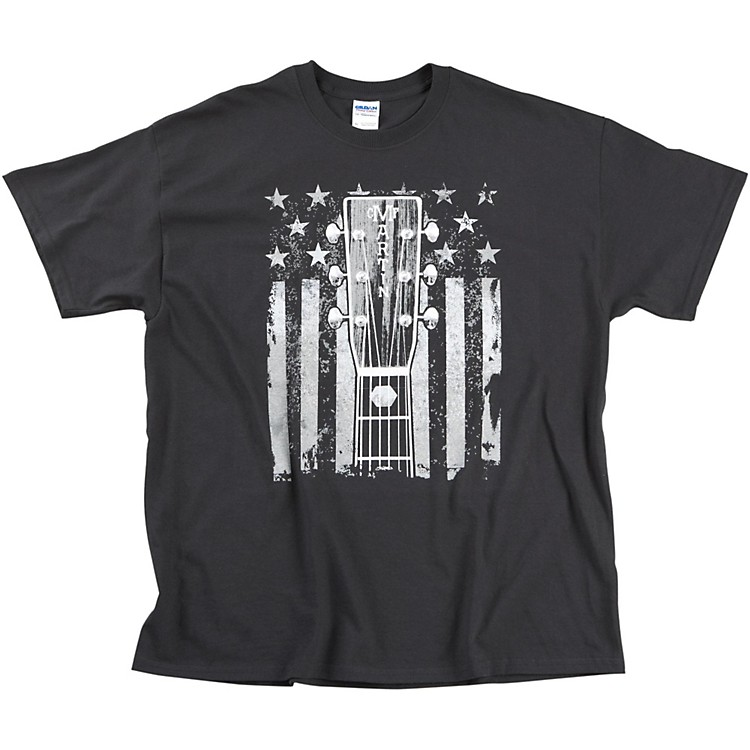 MartinHeadstock and Flag T-Shirt