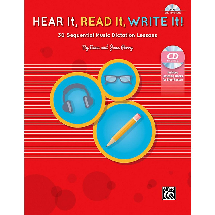 AlfredHear It, Read It, Write It! Book & CD