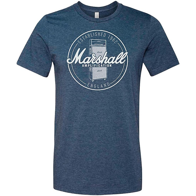 Marshall Heather Soft Style Ring Spun Cotton T-Shirt Established Navy Extra Large