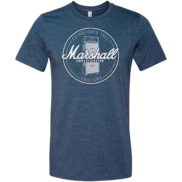 Marshall Heather Soft Style Ring Spun Cotton T-Shirt Established Navy Medium