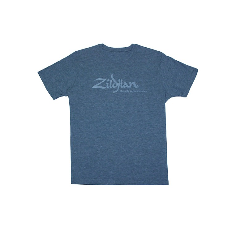 Zildjian Heathered Blue T-Shirt Heathered Blue Medium