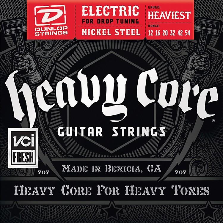 DunlopHeavy Core Electric Guitar Strings - Heaviest Gauge