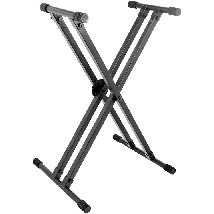 On-Stage Stands Heavy-Duty Deluxe X ERGO-LOK Keyboard Stand