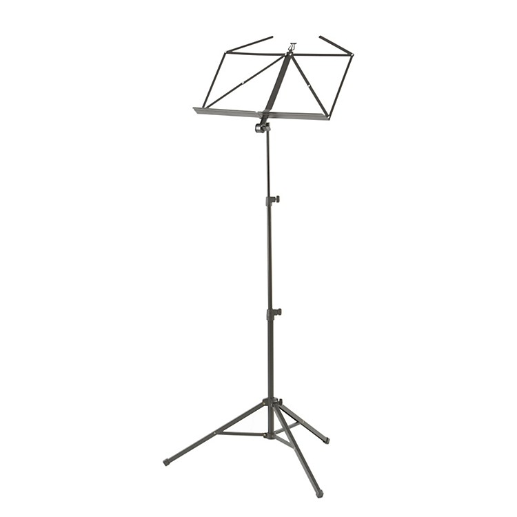 K&M Heavy Duty Music Stand Black