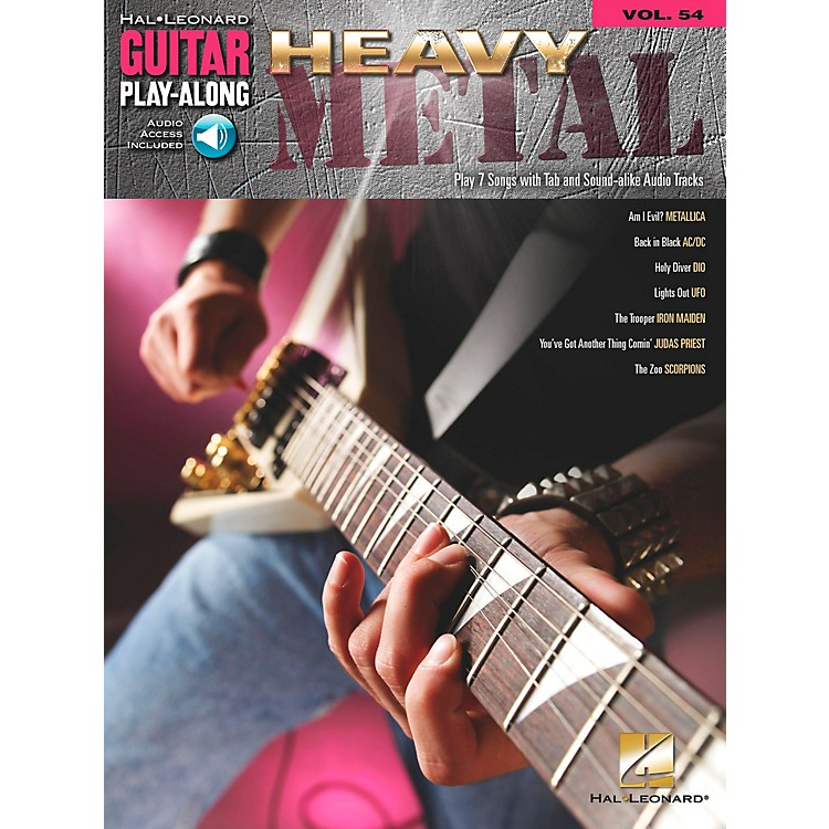 Hal Leonard Heavy Metal Guitar Play-Along Series Volume 54 (Book/CD)
