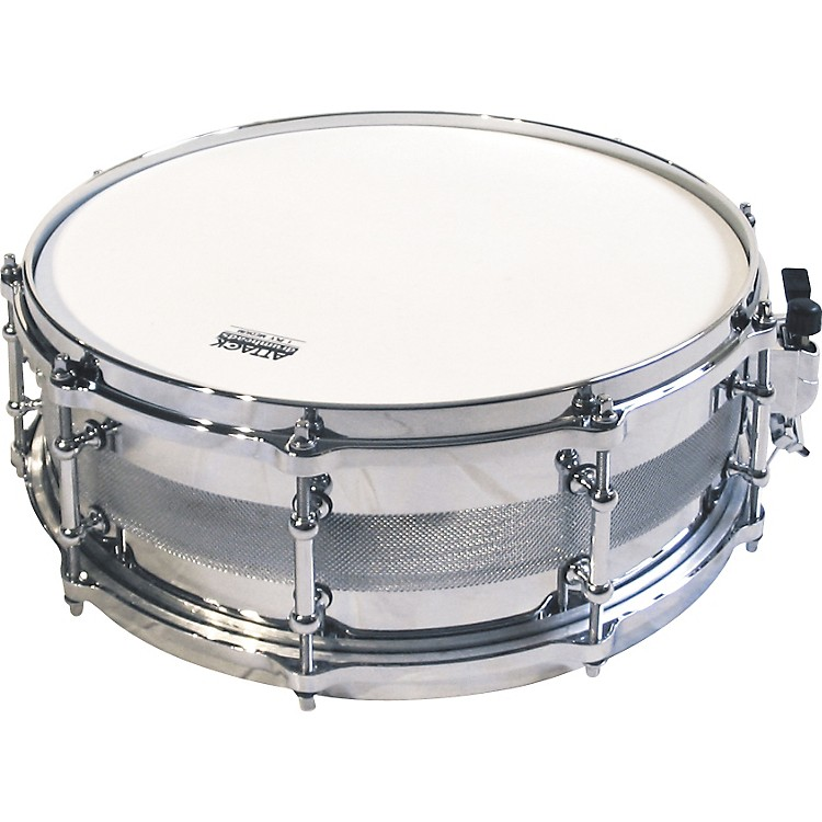 Ocheltree Heavy Metals Carbon Steel Snare Drum  14 x 5.5 in.