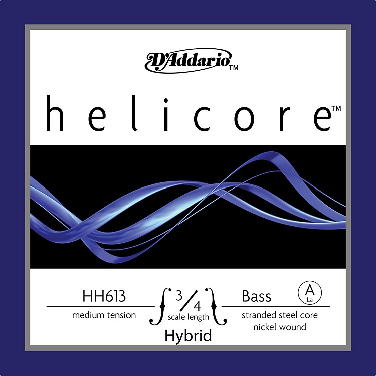 D'AddarioHelicore Hybrid 3/4 Size Double Bass Strings
