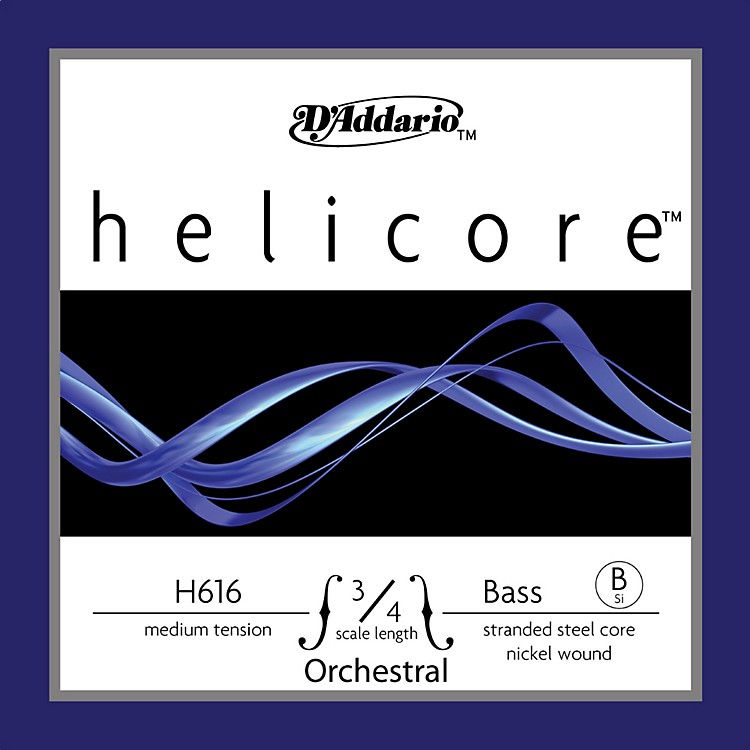 D'AddarioHelicore Orchestral 3/4 Size Double Bass Strings
