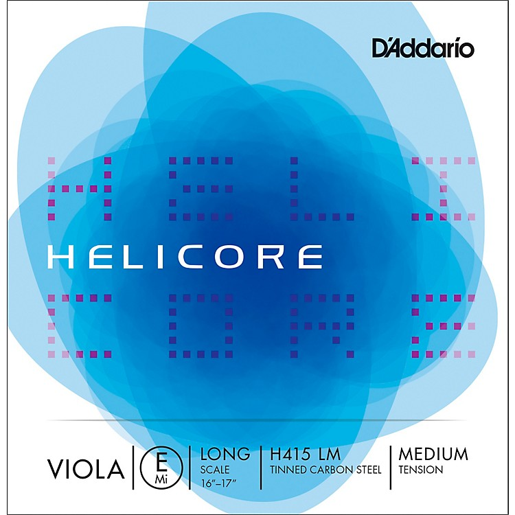 D'Addario Helicore Viola E String 16 plus in. Medium
