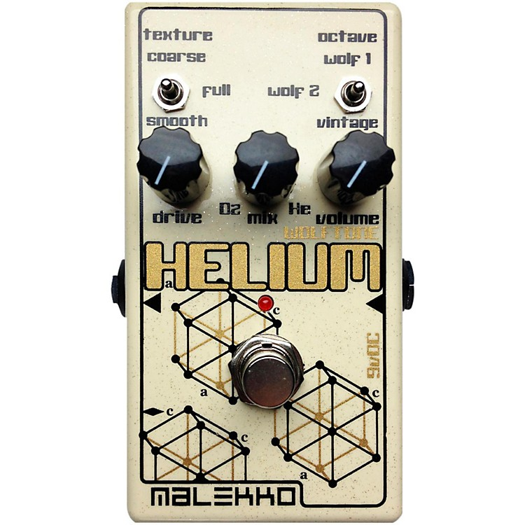 Malekko Heavy IndustryHelium MKII Distortion Guitar Effects Pedal