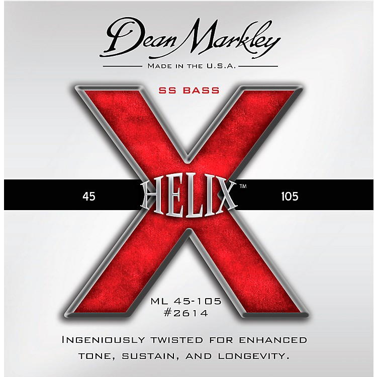 Dean Markley Helix HD SS Bass Guitar Strings