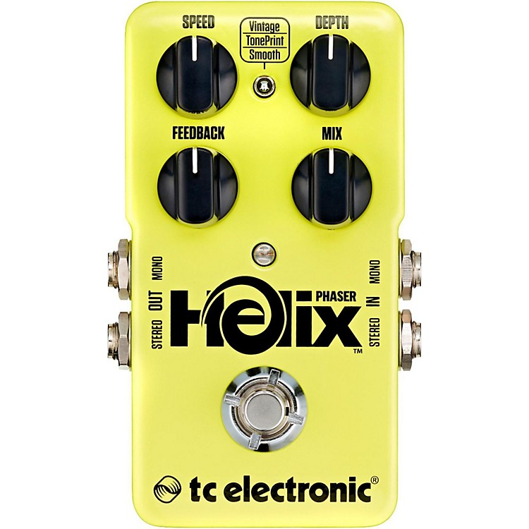 TC ElectronicHelix Phaser True Bypass Guitar Effects Pedal
